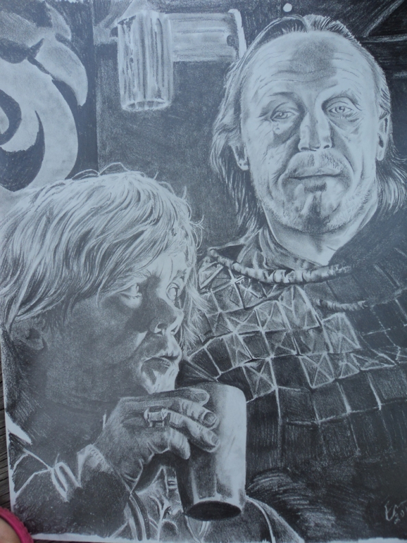 Tyrion Lannister and Bronn