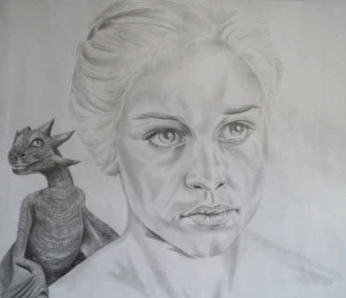 """Daenerys Targaryen exiled princess of the Targaryen Dynasty, Kahaleesi, a queen of the Dothraki and mother of dragons. """"I do not have a gentle heart. I will take what is mine with fire and blood."""""""
