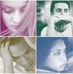 depressed teenagers