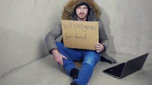 Homeless man-Vashti Quiroz-Vega
