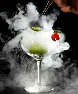 Spooky drink - Midnight Mary
