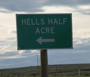 Hell's Half Acre - Wyoming