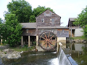 Old, abandoned haunted Mill