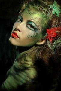 Poison Ivy - Great make-up!