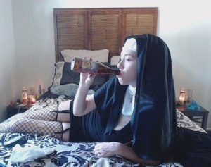 Nun - Taking a break?