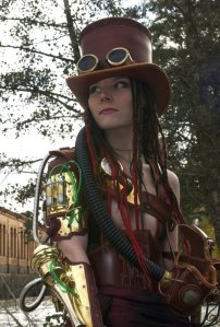 Steampunk - Cool and stylish costume.