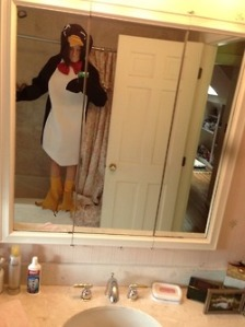 Penguin Costume - This is an accident waiting to happen.