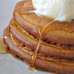 Grandma's Gingerbread Pancakes