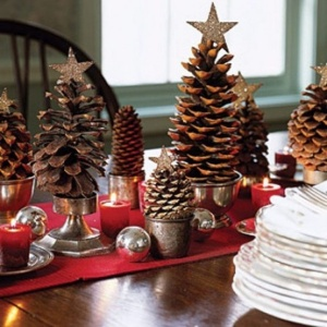 Astonishing-Rustic-Christmas-Table-Settings