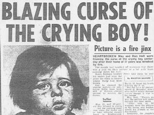 Curse of the crying boy