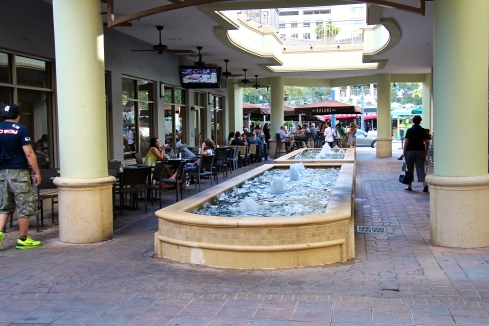 Fountain in Brickell