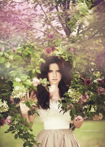 girl in paradise