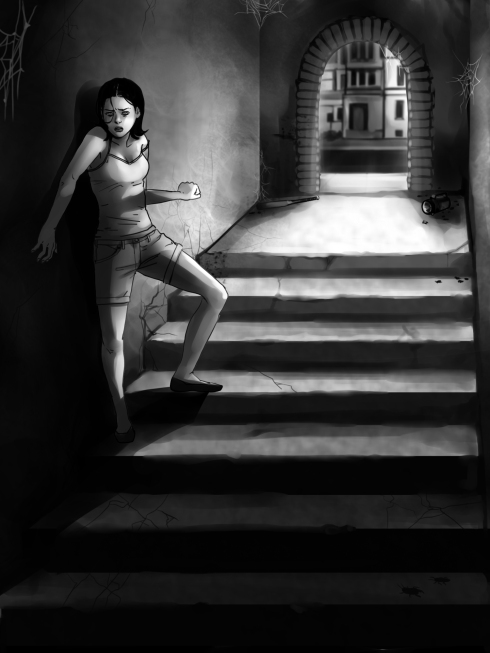 The Basement by Vashti Quiroz-Vega