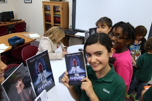 The Basement-book signing-reading-preteens