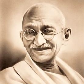 Mahatma Gandhi-Vashti Quiroz-Vega-Easter