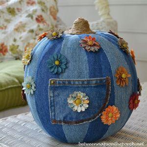 denim_pumpkin_decor