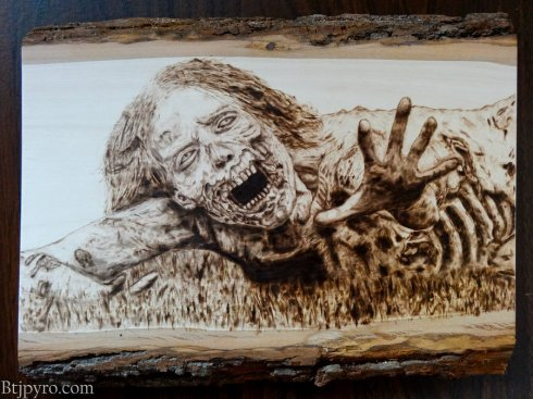 the_walking_dead___zombie__hannah____wood_burning_by_brandojones-d5l4108