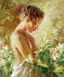 impressionistic-painting-girl-Fran Rose Writes-Vashti Quiroz-Vega's Blog