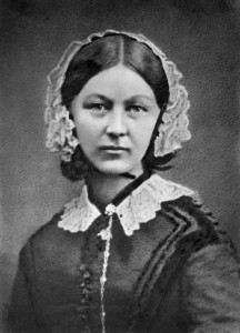 Florence Nightingale by Henry Hering, copied by  Elliott & Fry
