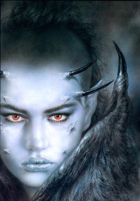 Lilith_The Fall of Lilith_Luis_Royo