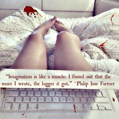 bleed-writers' quote wednesday-Vashti Q