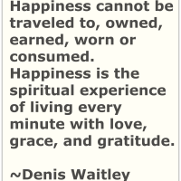 Writer's Quote Wednesday - Happiness