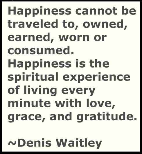 Happiness-Writer's Quote Wednwsday-The Writer Next Door