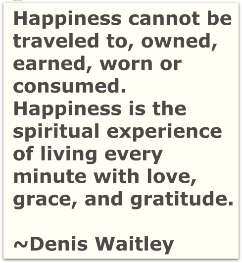 Happiness-Writer's Quote Wednwsday-The Writer Next Door