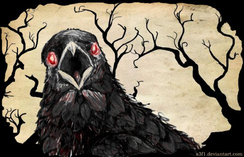 evil_crow_DeviantART_The Writer Next Door