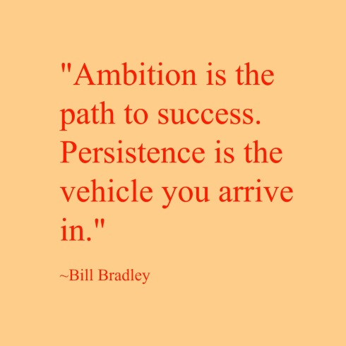 Ambition-Writer's Quote Wednesday
