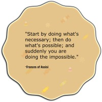 Writer's Quote Wednesday - Do The Impossible