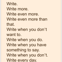 Writer's Quote Wednesday - Become a better writer