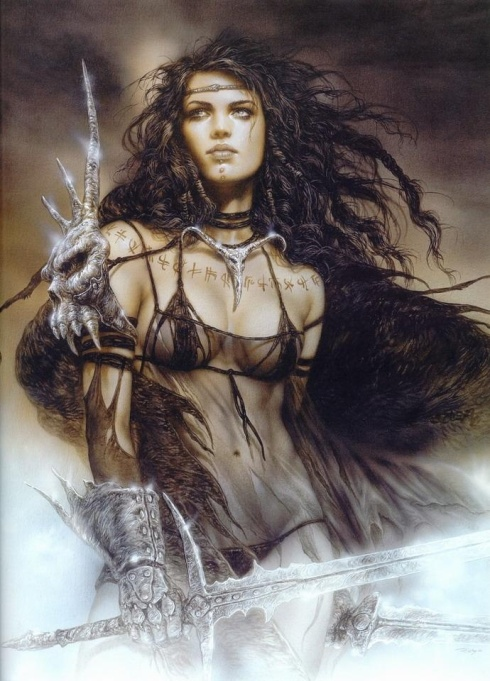 Luis Royo_The Fall of Lilith_Vashti Quiroz-Vega