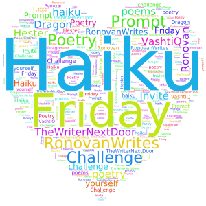 haiku-friday-the writer next door-Vashti Q-poetry