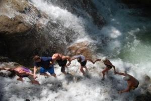 dunns falls-Jamaica-river-adventure-Vashti Q