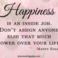 Writers Quote Wednesday - HAPPINESS