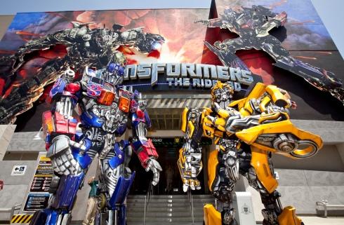 Universal Studios-Transformer-ride-haiku friday- Vashti Q
