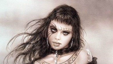 The Writer Next Door-Luis Royo-haiku-Friday
