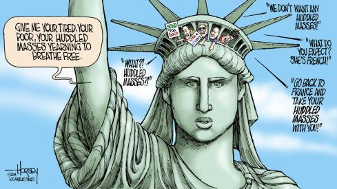 lady-liberty-America-Donald Trump-Haiku_Friday-The Writer Next Door