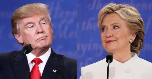 election 2016-trump-clinton-split-Haiku_Friday-The Writer Next Door-Poetry