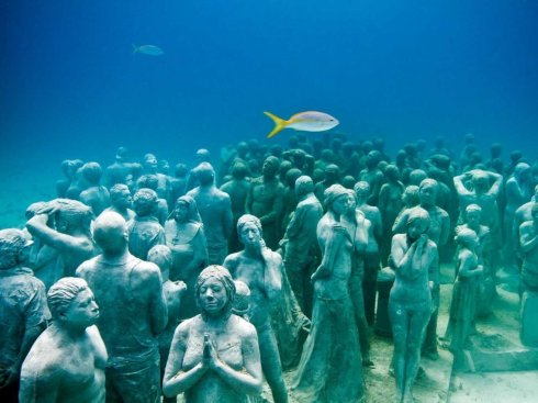 underwater-museum-Cancun-The Writer Next Door-Vashti Q-Poetry
