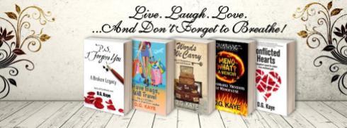 memoirs-DG Kaye-novels-spotlight-author-The Writer Next Door-Vashti Q-blogger