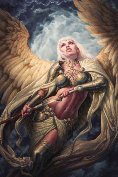 guardian angel-michael c hayes-DeviantArt-art-The Writer Next Door-spotlight-Vashti Q