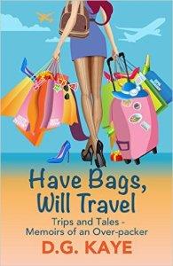 Travel-D.G. Kaye-memoir-The Writer Next Door-Vashti Q-spotlight-author-book