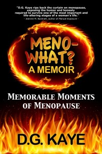 The Writer Next Door-Vashti Q-D.G. Kaye-menopause-novel-memoir-women_problems-spotlight