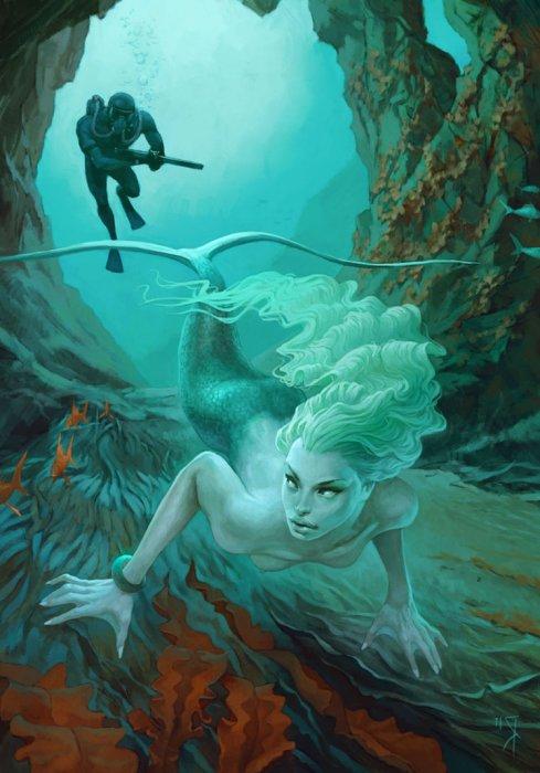 DeviantArt-art-Haiku_Friday-The Writer Next Door-mermaids-Poetry-haiku