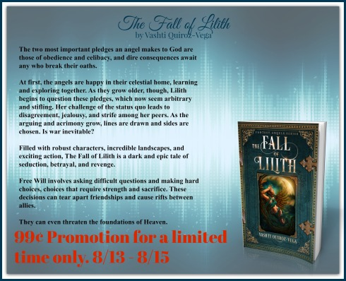 The Fall of Lilith-Fantasy Angels Series-Vashti Quiroz Vega-guest_author-spotlight-south branch scribbler-Allan Hudson-new release