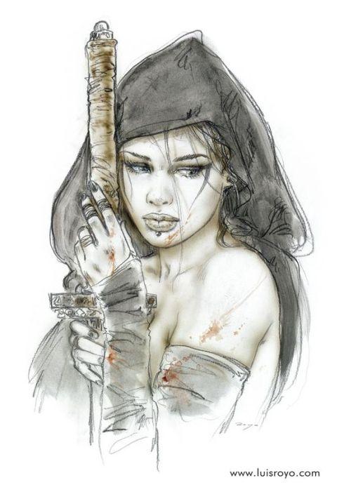 Luis Royo-Gadreel-angel falling-Haiku-Friday-Poetry-The Writer Next Door-Vashti Q-Vashti Quiroz Vega-The Fall of Lilith-novel