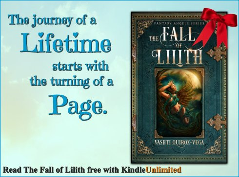 Rave Reviews Book Club-RRBC-Vasht Quiroz Vega-Spotlight_Author-blog tour-Vashti Q-the fall of lilith-fantasy angels series