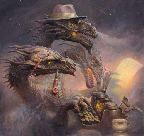 Andrew Ferez-DevianART-dragon_writer-Vashti Quiroz Vega-Haiku_Friday-The Writer Next Door-Vashti Q-Poetry